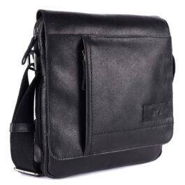 Men's Crossbody Bag – Lazio – Black