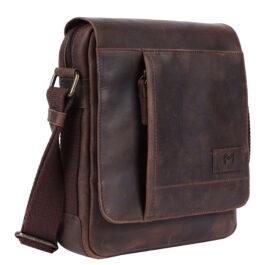 Men's Crossbody Bag – Lazio – Brown