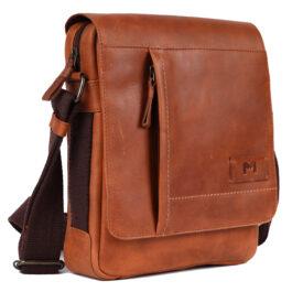 Men's Crossbody Bag – Lazio – Tan