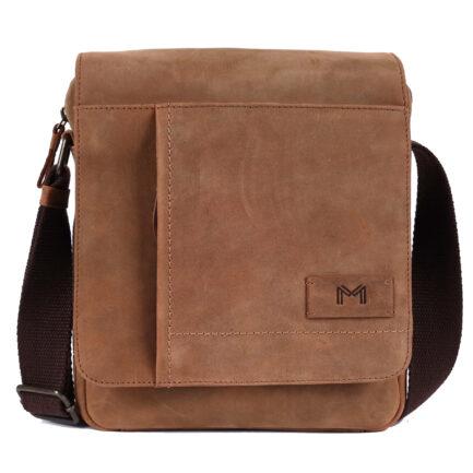 Leather Portfolio Bag front