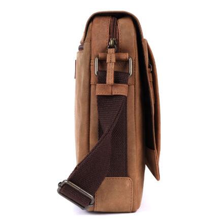 Leather Portfolio Bag side