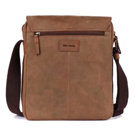 Leather Portfolio Bag back