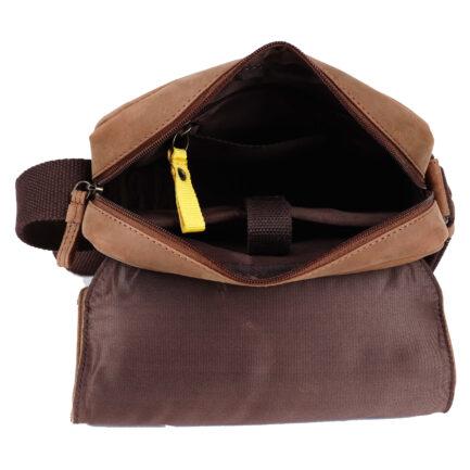 Leather Portfolio Bag inside