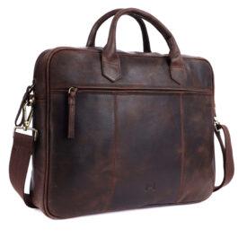 Laptop Messenger Bag (14 inch size) – Lazio – Brown