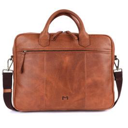 Laptop Messenger Bag (14 inch size) – Lazio – Tan