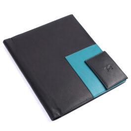 Executive Folder with Writing Pad (A4 Size) – Black