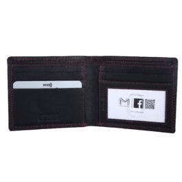 RFID Protected Men's Slim Wallet – Fabriano – Black