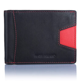 RFID Protected Men's Moneyclip Wallet – Nicosia – Black