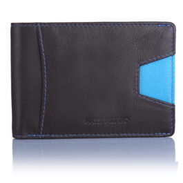 RFID Protected Men's Moneyclip Wallet – Nicosia – Brown
