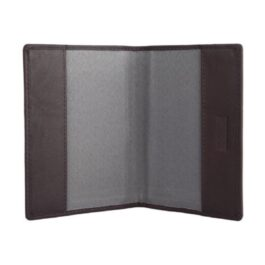 Slim Passport Holder – Chocolate Brown