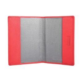 Slim Passport Holder – Ruby Red