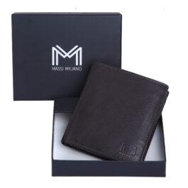 Men's Vertical Wallet – Rome – Brown
