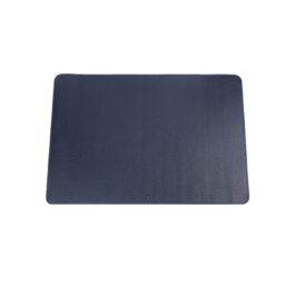 Leather Desk Pad – Large – Navy Blue