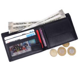 Men's Trifold Wallet – Verona – Black/Grey
