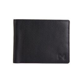 Men's Textured Wallet – Florence – Black