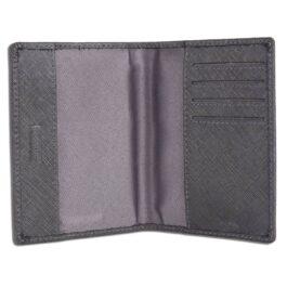 RFID Protected Slim Passport Holder – Grey