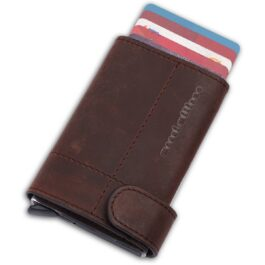 Slim Wallet – Monte Carlo – Chocolate Brown