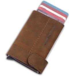 Slim Wallet – Monte Carlo – Vintage Brown
