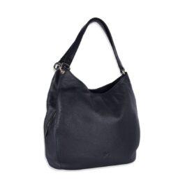 Women's Shoulder Bag – Lombardy – Navy Blue