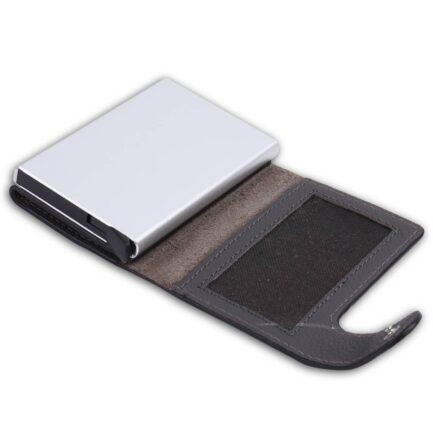 Slim Card Holder Wallet open