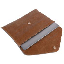 Women's Laptop Sleeve/Laptop Case – Venezia – Cognac